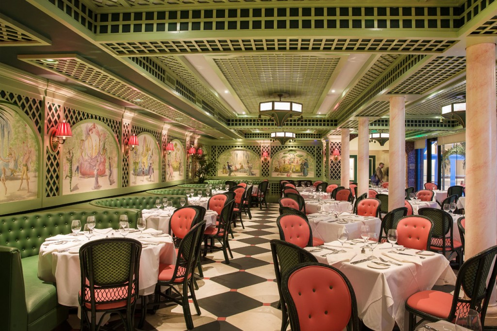 Inside Brennan's Restaurant, 417 Royal Street, New Orleans