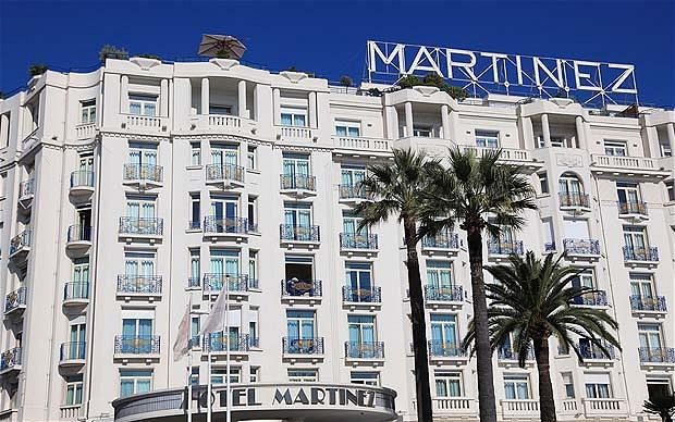 Hotel Martinez, Cannes, Cote d'Azur, Alpes-Maritimes, Provence, France, Europe