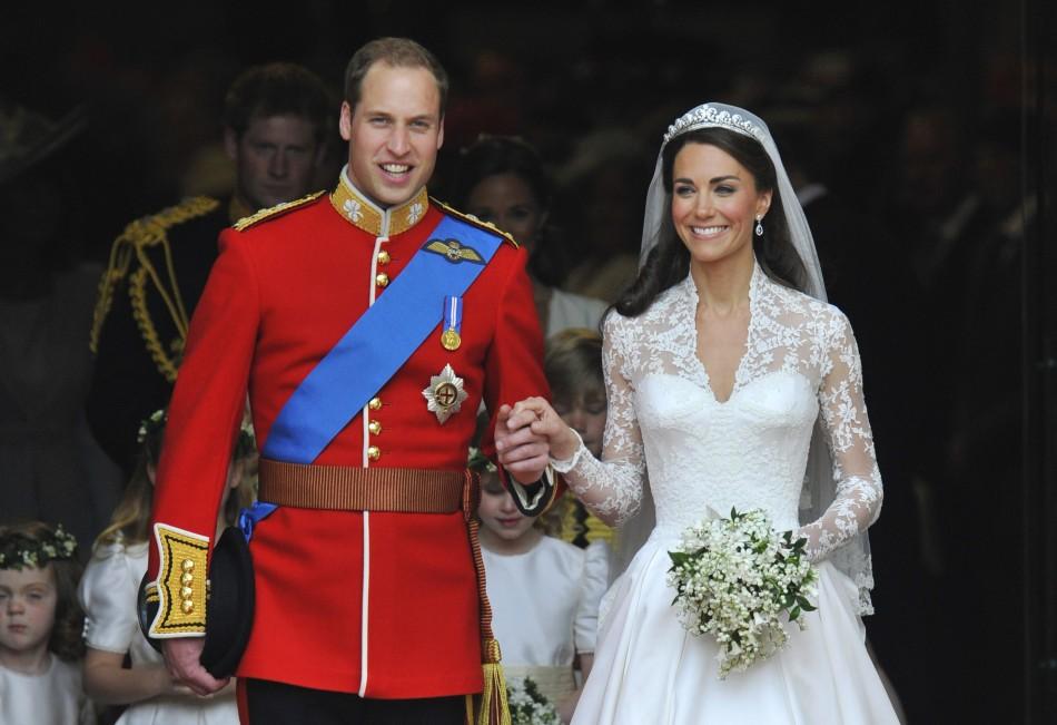 Prince William The Duke of Cambridge and Kate Middleton Royal Wedding Ceremony Photo (6)