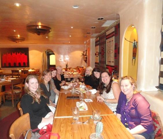 Reader Dinner at Nava in Buckhead