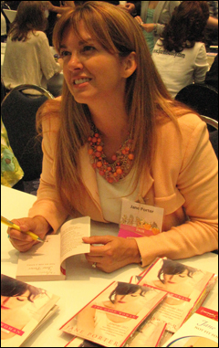 Jane at the 2012 National RWA, Anaheim, CA